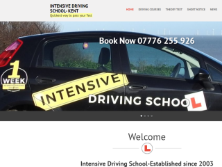 Intensive Driving School Kent